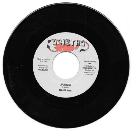 Major King - Jahovia / version (Arietha / DKR) 7""